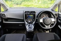 Toyota Ractis Japan Version 2014 Interior Stock Image
