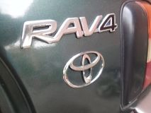 Toyota RAV4 photographie stock libre de droits