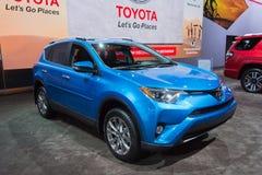 Toyota RAV4 begrenzt Stockbilder