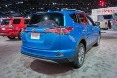 Toyota RAV4 begrenzt Stockfotos