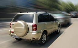 Toyota RAV-4 bil fotografering för bildbyråer