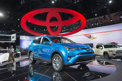 Toyota RAV4 Hybri Royalty Free Stock Images