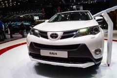 Toyota RAV4, Motorowy przedstawienie Geneve 2015 Obrazy Royalty Free