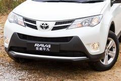 Toyota RAV4 2013 Royalty Free Stock Photos