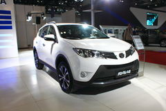Toyota rav4 2 Version des Luxus-5L Stockbild