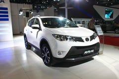 Toyota rav4 2 version för lyx 5L Fotografering för Bildbyråer