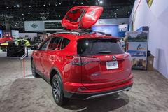 Toyota RAV4 XLE Stockfoto