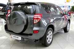 Toyota RAV4 Stock Photo