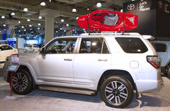 2015 Toyota 4Runner ciężarówka przy 2014 Nowy Jork Międzynarodowym Auto przedstawieniem Zdjęcia Stock