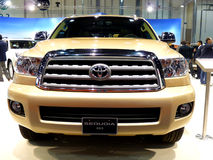 Toyota Sequoia Front Royalty Free Stock Images