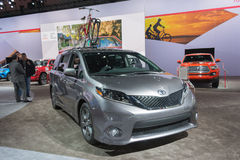 Toyota Sienna 2016 Royalty Free Stock Images
