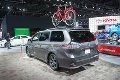 Toyota Sienna 2016 Royalty Free Stock Image