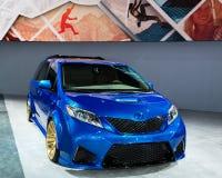 2017 Toyota sjena Obraz Stock