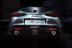 Toyota Supra 2020 foto de archivo libre de regalías
