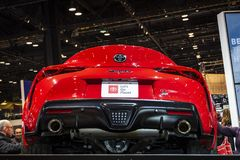 2020 Toyota Supra royalty-vrije stock foto