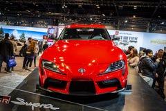 Toyota Supra 2020 fotografía de archivo