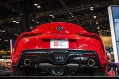 Toyota Supra 2020 fotografia stock libera da diritti