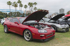 Toyota Supra 1994 on display Royalty Free Stock Image