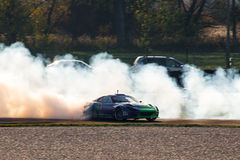Toyota Supra drift car Stock Photography