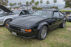 Toyota Supra 1984 op vertoning Royalty-vrije Stock Foto