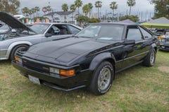 Toyota Supra 1984 sur l'affichage Photo libre de droits