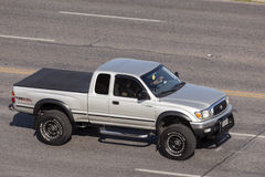Toyota Tacoma TRD off road. AUSTIN, USA - APR 11: Toyota Tacoma TRD off road pickup truck on the street in Austin, Texas. April 11, 2016 in Austin, Texas, United stock images