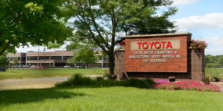 Toyota Technical Center in Ann Arbor, MI Stock Photography