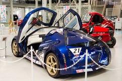 Toyota TES-ERA EV, veicolo elettrico presentato nella sala d'esposizione di Odaiba Tokyo, Giappone immagine stock