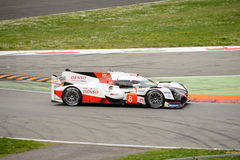 Toyota TS050 Hybrid Le Mans Prototype at Monza Royalty Free Stock Photo