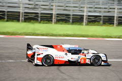Toyota TS050 Hybrid Le Mans Prototype at Monza Royalty Free Stock Images