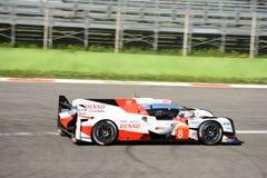 Toyota TS050 Le Mans Hybrydowy pierwowzór przy Monza Obrazy Royalty Free