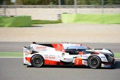 Toyota TS050 Le Mans Hybrydowy pierwowzór przy Monza Obrazy Stock