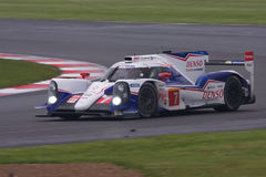 Toyota TS040 at Siverstone Royalty Free Stock Photos