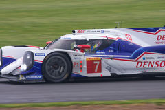 Toyota TS040 up close. Toyota TS040 at the 6 hours of Silverstone royalty free stock image