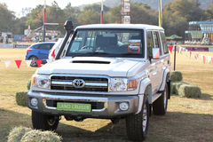 Toyota Vehicle Display at Festival South Africa Royalty Free Stock Photography