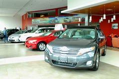 Toyota-Verkaufßtelle Stockfotografie