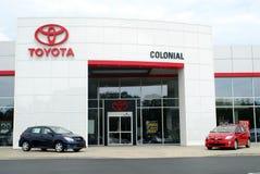 Toyota-Verkaufßtelle stockfotos