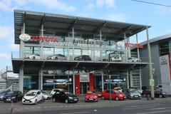 Toyota-Verkaufsstelle Stockbild