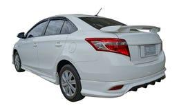 Toyota Vios. Car Toyota Vios Year 2014 on a white background Royalty Free Stock Image