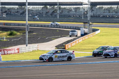 TOYOTA VIOS One make race at 2015 TOYOTA MOTORSPORT 2015 Round 1 Stock Images