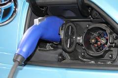 Toyota voet-EV III elektrisch conceptenvoertuig Stock Foto's
