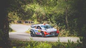 Toyota world rally car Royalty Free Stock Photos