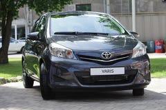 Toyota Yaris Imagen de archivo libre de regalías