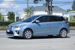 Toyota Yaris dell'auto privata Immagine Stock