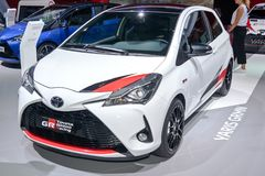 Toyota Yaris GRMN Royaltyfri Foto
