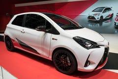 Toyota Yaris GRMN varm luckabil Royaltyfri Bild