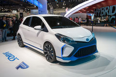 Toyota Yaris Hybrid-R concept Royalty Free Stock Photos