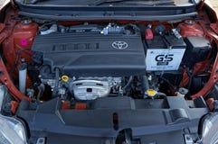 Toyota Yaris-motor Stock Afbeeldingen