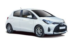 Toyota Yaris Royalty Free Stock Images