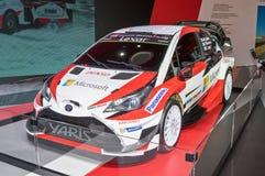 Toyota Yaris WRC Arkivbild
